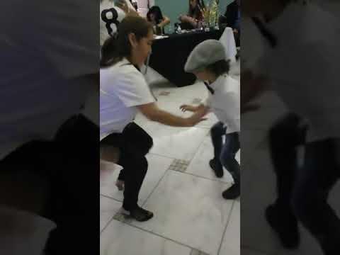 Santiago  dancing at Tio Shampoo Bday party