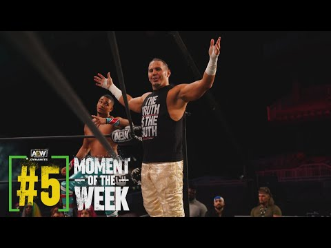 Is Matt Hardy's Investment Paying Off?   AEW Dynamite, 1/20/21