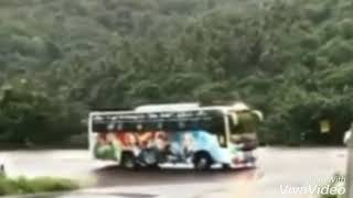 Dhoom air horn in tourist bus || Hill road