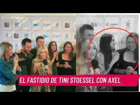 Escándalo: Tini Incómoda Con El Abrazo De Axel
