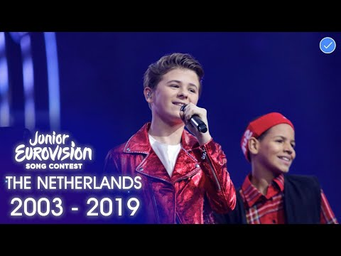 The Netherlands at The Junior Eurovision Song Contest 2003 - 2019