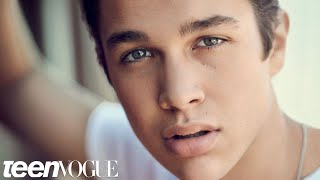 Austin Mahone Reveals His Ideal Girl at the Teen Vogue Cover Shoot