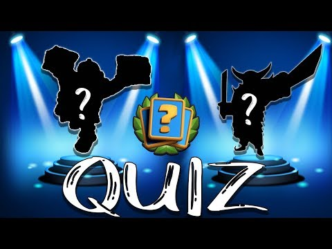 Guess The Troop || Clash Royale Quiz #1 ||