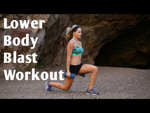 20 Minute Lower Body Blast Workout to Strengthen and Sculpt Legs and Butt