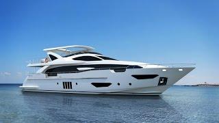 Обзор яхты класса люкс - Azimut 95 RPH(Тест люкс яхты Azimut 95 RPH. Длина: 28.62 метра (93 футов'). Аренда яхт: http://sunsailing.com.ua/, 2014-11-20T22:27:53.000Z)