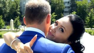 Свадьба. Новосибирск. Июнь 2015. Красивая пара.