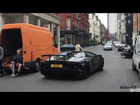 MILLIONAIRE James Stunt gives homeless guy money in Lamborghini Aventador | Insane Escort Security