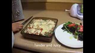 Veggie Lasagna Done With No Noodles