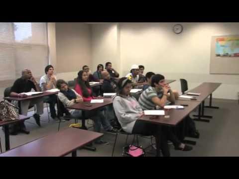 English Class at Valencia College - Orlando