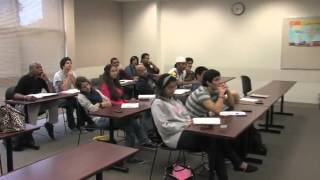 English Class at Valencia College - Orlando