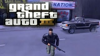 I am playing grand theft auto 3......watch me.