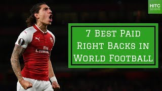 7 best paid right backs in world football