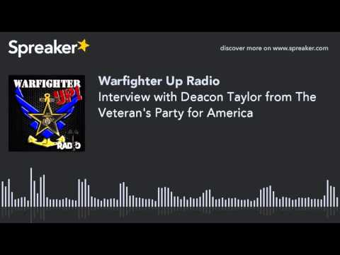 Interview with Deacon Taylor from The Veteran