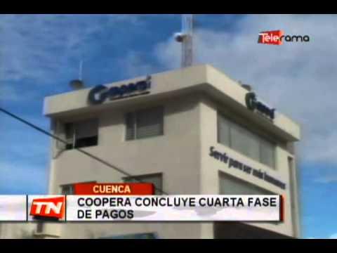 Coopera concluye cuarta fase de pagos