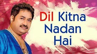 Kumar Sanu 90's hits | Dil Kitna Nadan Hai | Raja & Rajeshwari | Best of kumar Sanu Song