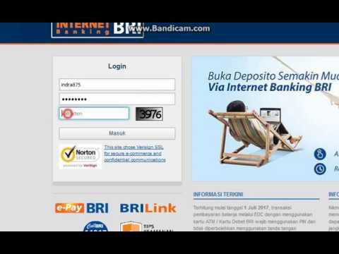 Cara transfer Sesama Bri via Internet banking Bri