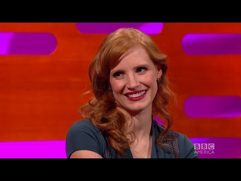 "Jessica Chastain on Being A ""Ginger!!!"" - The Graham Norton Show"
