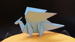 Hướng dẫn cách gấp giấy hình con rồng - Origami Dragon - Nghệ thuật gấp xếp giấy nhật bản