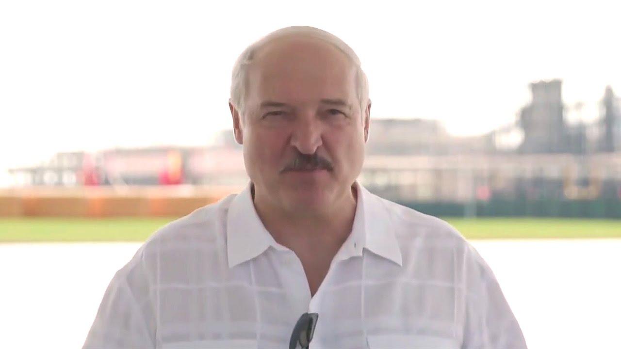 Александр Лукашенко прокомментировал ситуацию с протестами в Белоруссии
