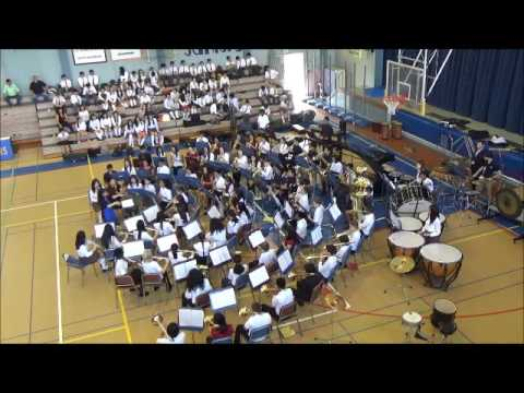 Kanto Plain MS Festival Band 2016 - Afterburn by Randall D. Standridge