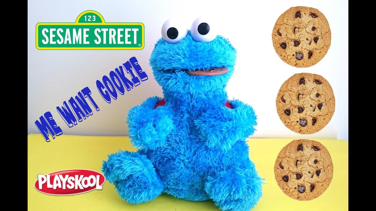 Sesame Street Cookie Monster Count N Crunch - Youtube