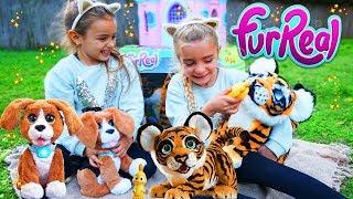 ENCONTRAMOS un TIGRE en el JARDIN FurReal Tyler & Charly Ratitas
