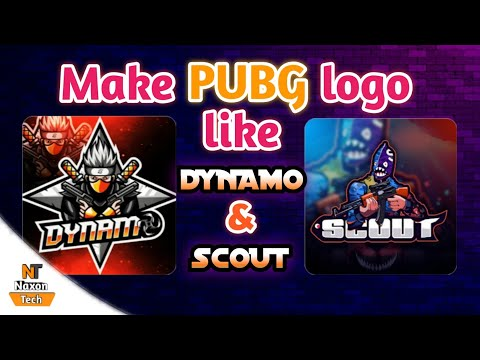 Make your own Gaming Logo like Dynamo, Scout & Mortal   Mascot logo Tutorial   Gaming Logo