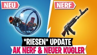 *UPDATE* AK NERF & NEUES Kugler Fahrzeug! | Fortnite Battle Royale