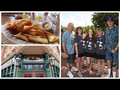 eating-at-epcot's-rose-and-crown-pub!-walt-disney-world-vacation-vlog