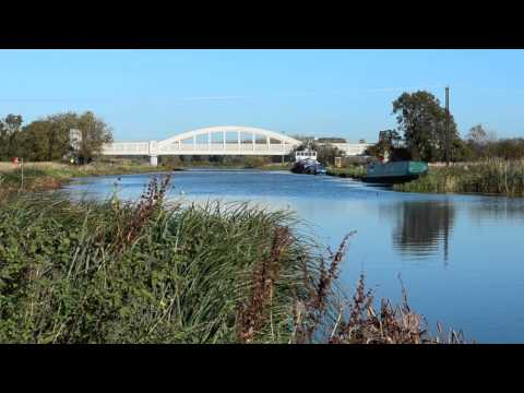 RIVER CAM, DIMMOCK'S COTE, STRETHAM, CAMBRIDGESHIRE