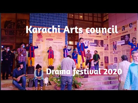 Karachi Arts council| Drama festival 2020| by travel with javed muzammil