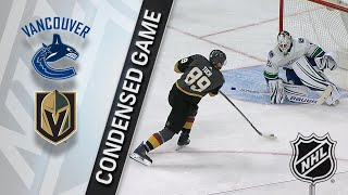 03/20/18 Condensed Game: Canucks @ Golden Knights