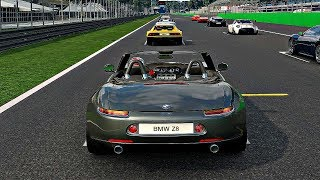 Gran Turismo Sport - Gameplay BMW Z8 @ Monza [1080p 60fps]