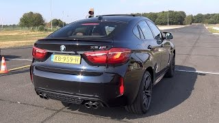 BMW X6M F86 575 HP 4.4L V8 Twin Turbo Exhaust Sounds!