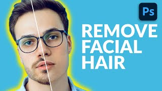How to Remove Facial Hair in Photoshop screenshot 5