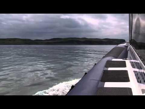 A sea tour of the north Antrim coastline