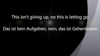 Rise Against - This is letting go(Lyrics + Übersetzung)