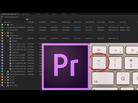 Episode 2   Windows and Layout - Adobe Premiere Pro CC 2015