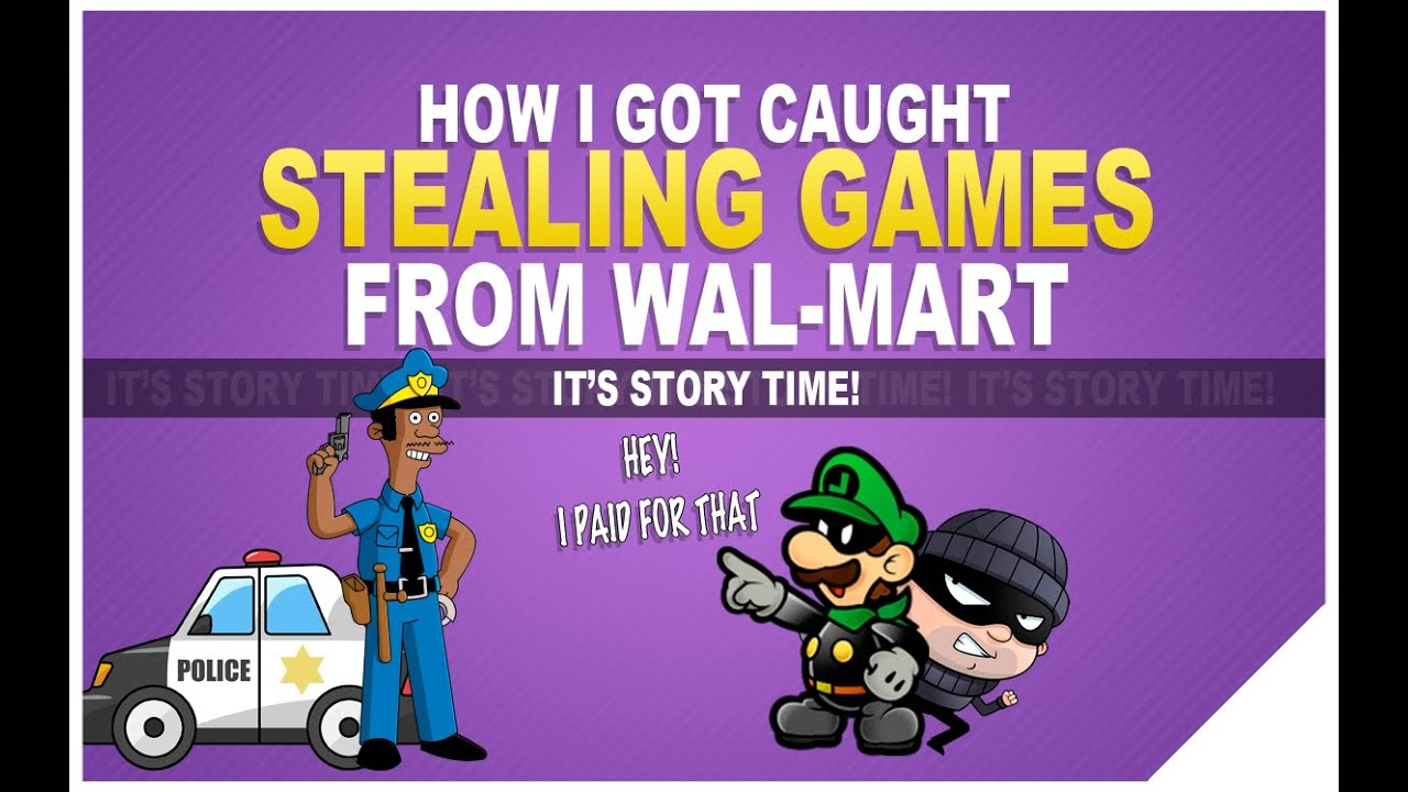 I got caught shoplifting at walmart