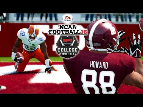 NCAA Football 16 | #18 FLORIDA at #2 ALABAMA | Will Grier Shreds The Alabama D!