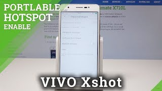 How to Create Portable Hotspot in Vivo Xshot - Wi-Fi Sharing