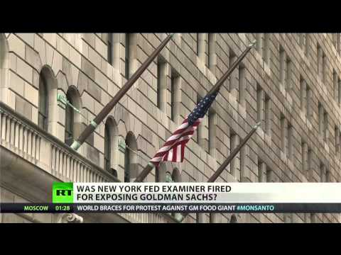 Lawsuit: New York Fed examiner fired for Goldman Sachs findi