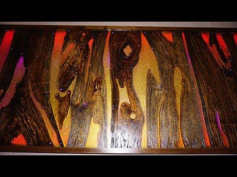Wood Resin LED Optic Fiber  |  EPOS FURNITURE