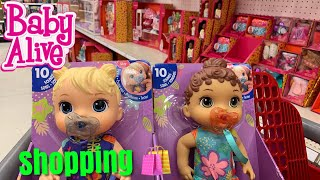 Shopping At Target For BABY ALIVE and Our Generation dolls