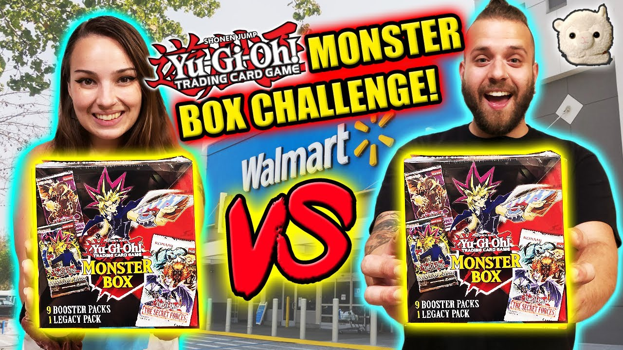 Yu-Gi-Oh! MONSTER BOX WALMART CHALLENGE!!! LOGAN VS. BRYAN!! Who will pull supreme??