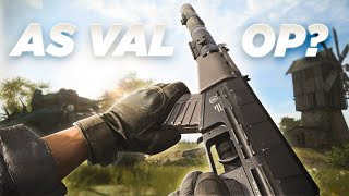 Is the new AS VAL OP?? AS VAL Data Analysis Video - Warzone