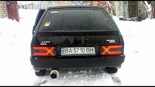 Тюнинг ВАЗ 2109 \ задние фонари X Style иксы