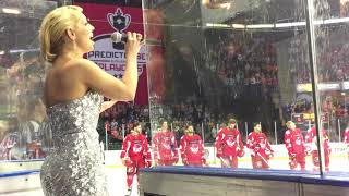 Emily Haig Soprano - Scottish National Anthem - PredictorBet Ice Hockey