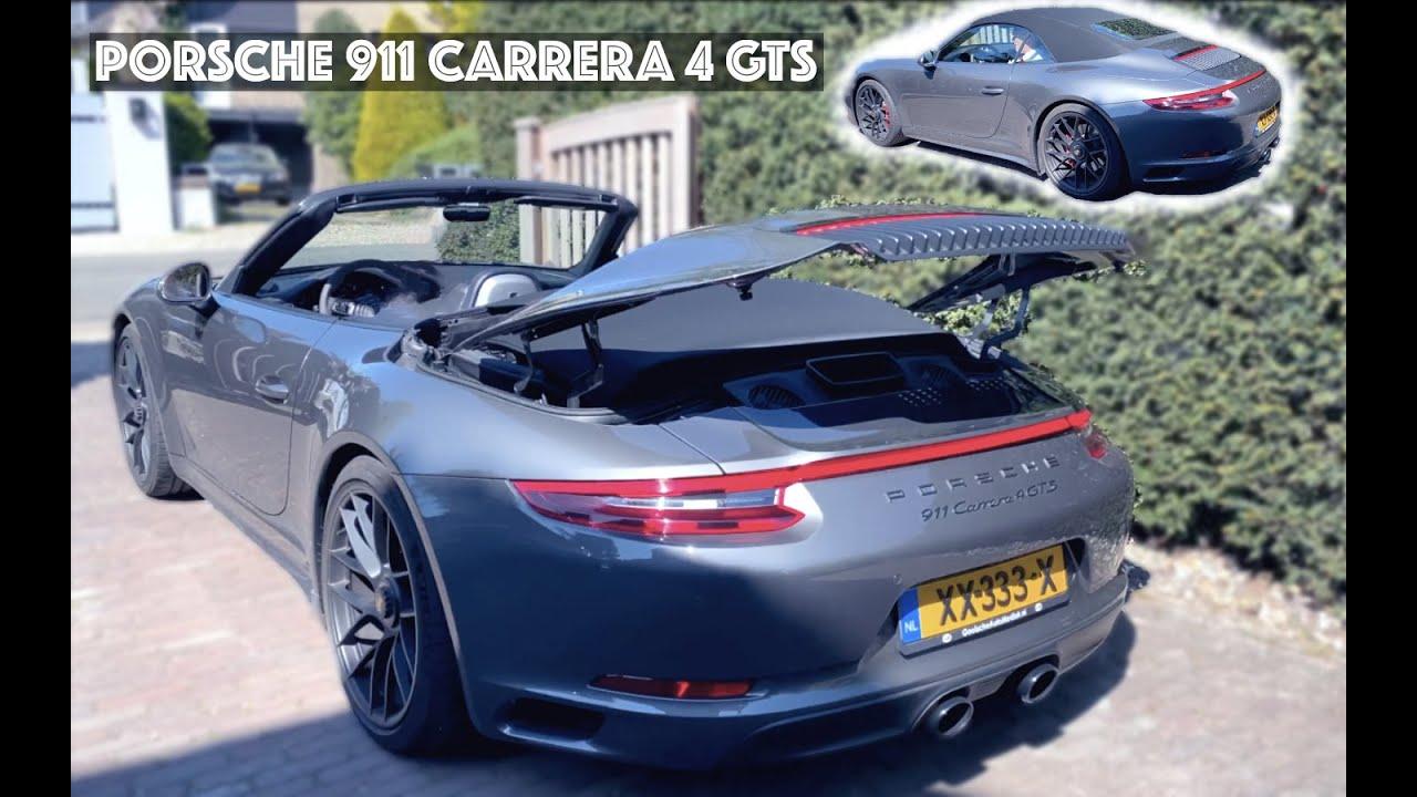 PORSCHE CARRERA 911 4 GTS Cabrio - Самый Безобидный Порше?   Влог 31