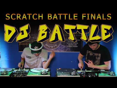 DJ SCRATCH BATTLE (Final Rounds) 2019 Glass City Mix Masters